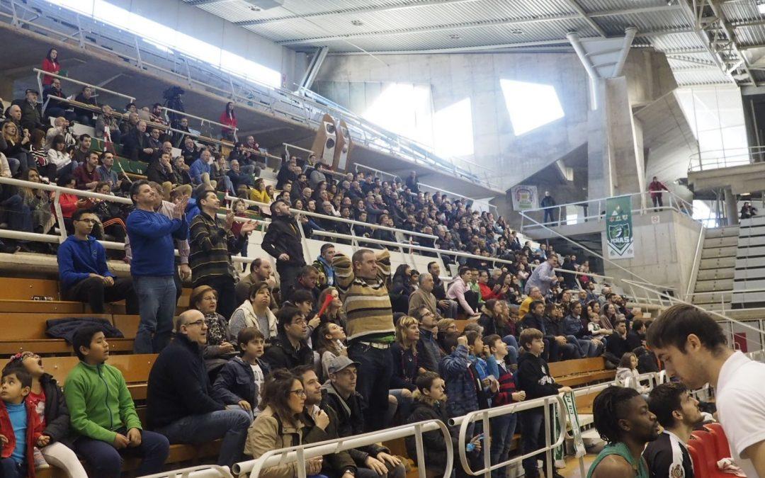 CRÓNICA  Gran victoria de Levitec Huesca en un vibrante encuentro