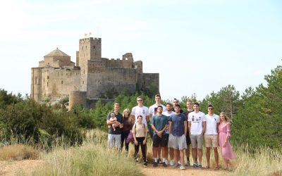 NOTICIA| Levitec Huesca visita el Castillo de Loarre