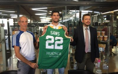 NOTICIA| Agustí Sans, presentado en el Gimnasio Alameda