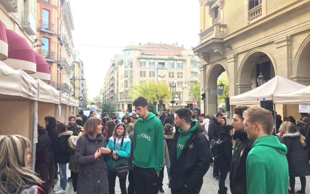 NOTICIA| Peñas Huesca, presente en el Día Internacional de la Discapacidad