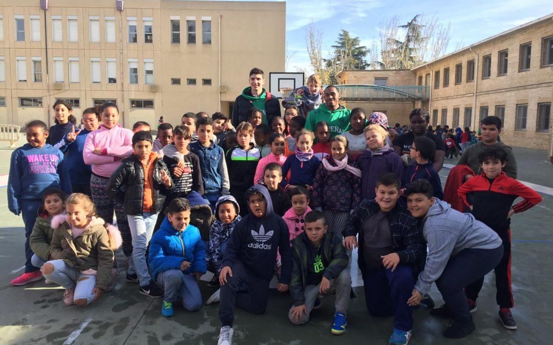 NOTICIA| Levitec Huesca visita el colegio Pío XII
