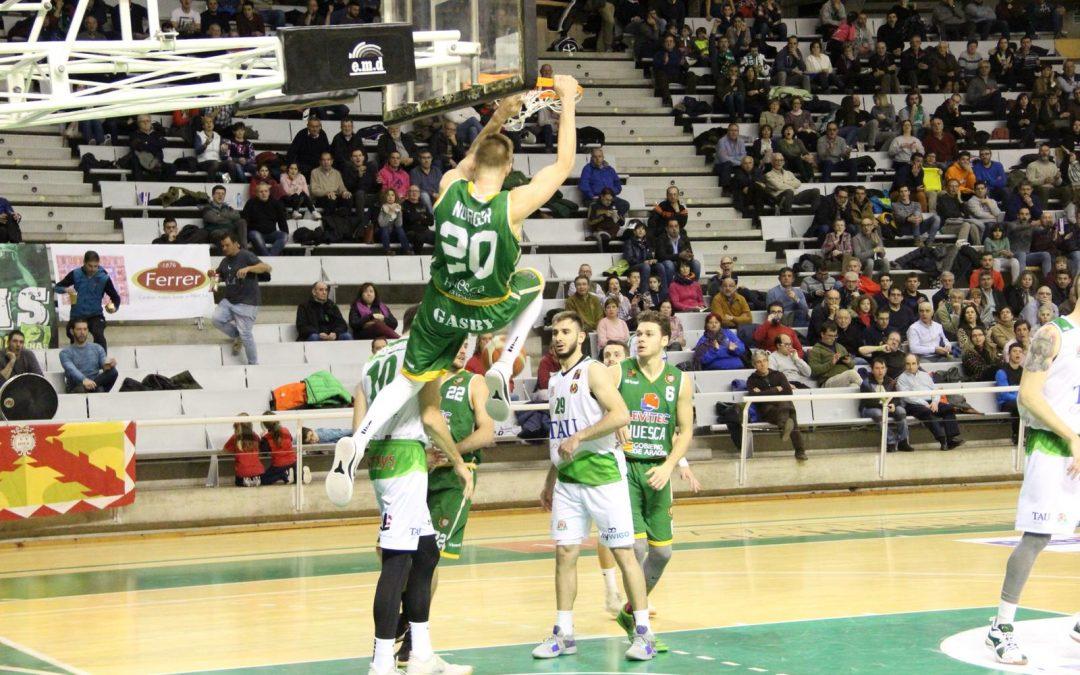 CRÓNICA| Levitec Huesca vuelve a la victoria en su fortín