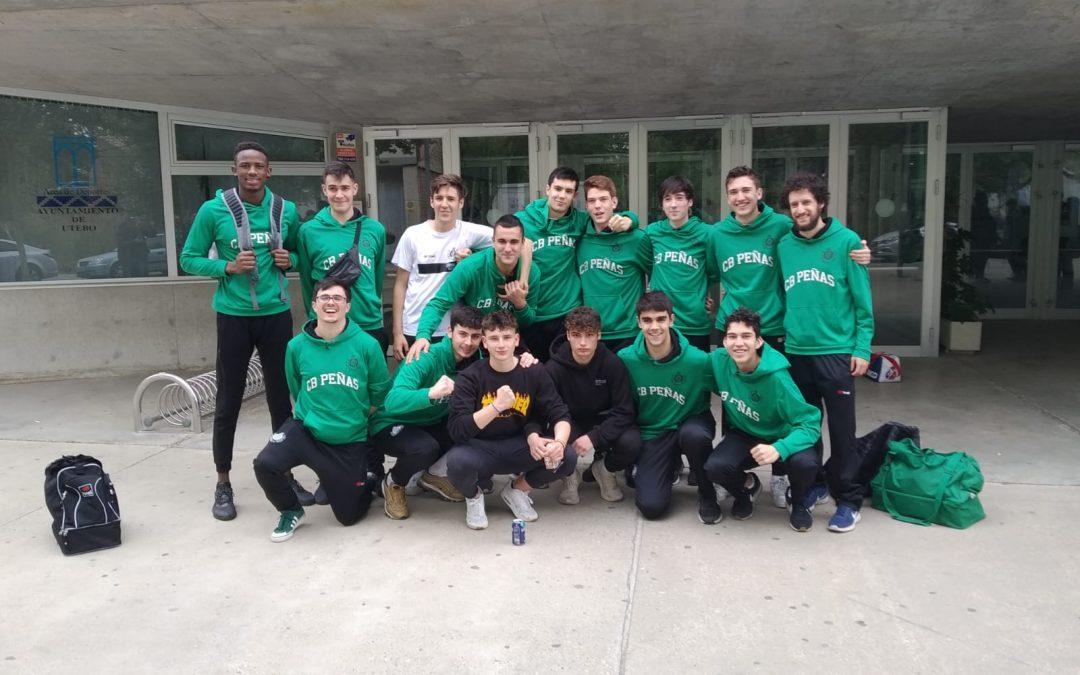 CANTERA | El equipo junior masculino del CB Peñas se clasifica para el Campeonato de España