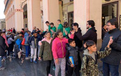 Club Baloncesto Peñas participa en la tercera edición de la mini marcha Aspace