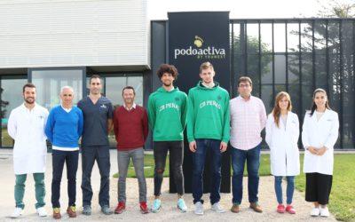 NOTICIA   Levitec Huesca renueva el acuerdo de colaboración con Podoactiva