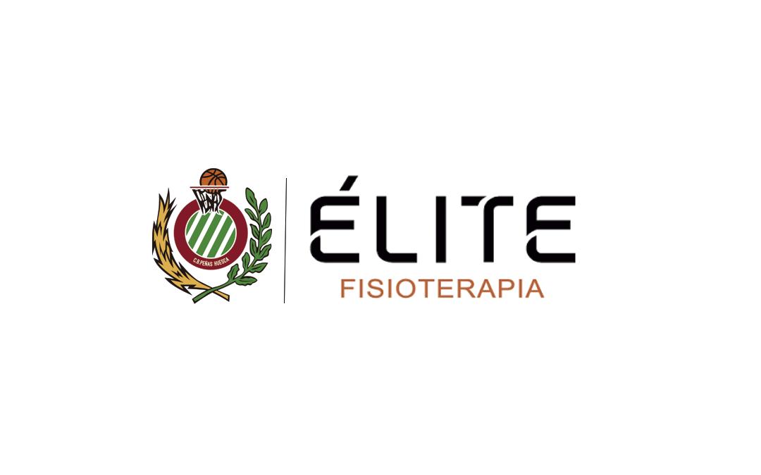 NOTICIA| ÉLITE Fisioterapia renueva su colaboración con el Club Baloncesto Peñas