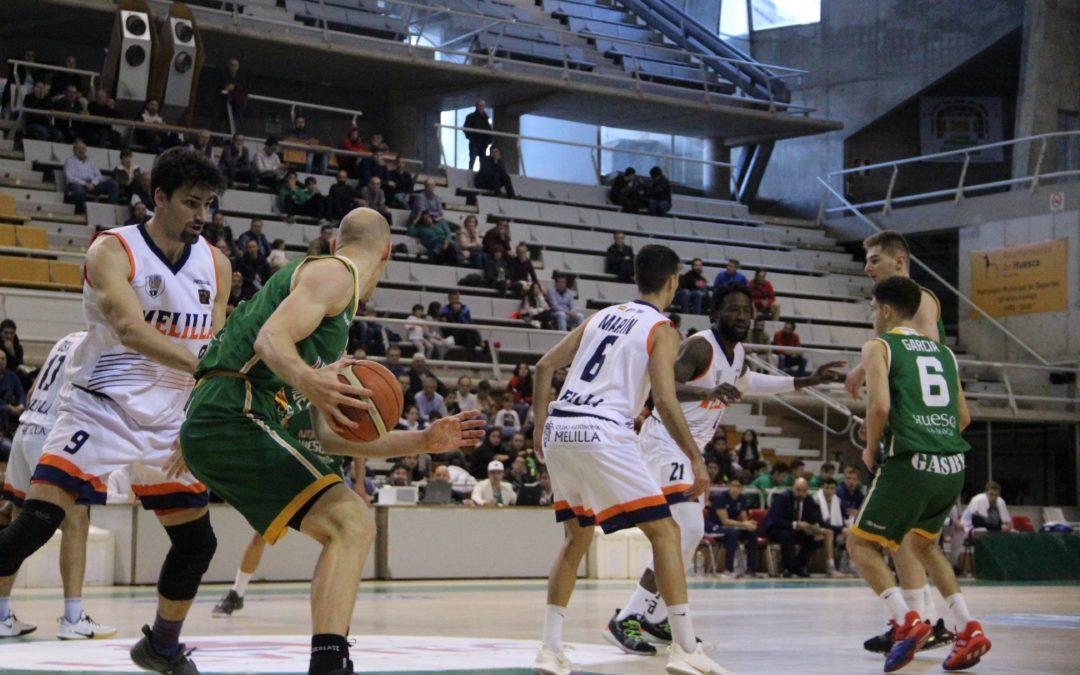 CRÓNICA | Levitec Huesca gana con claridad a Melilla