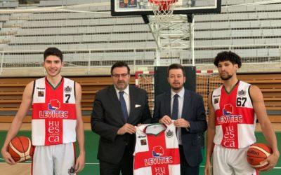 NOTICIA | El Club Baloncesto Peñas y la Sociedad Deportiva Huesca presentan el convenio de colaboración