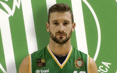 NOTICIA| Berni García finaliza su contrato con el Levitec Huesca