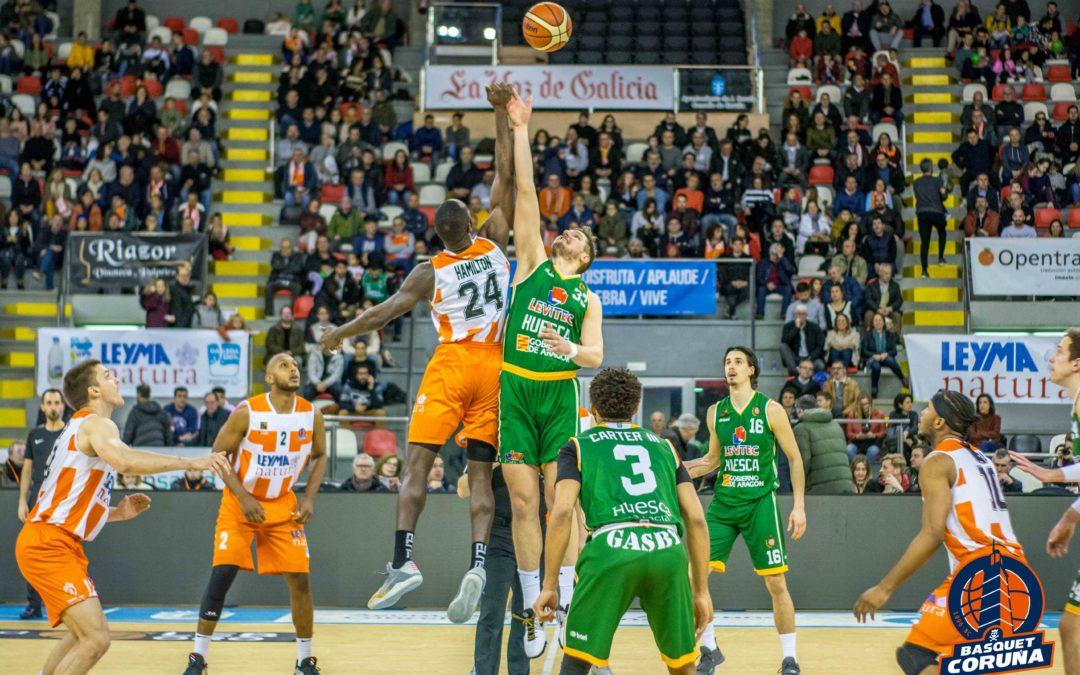 CRÓNICA | Levitec Huesca cae por 70-64 frente a Leyma Coruña