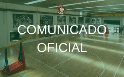 COMUNICADO | CB Peñas suspende la actividad en el Peñas Center hasta el 26 de marzo