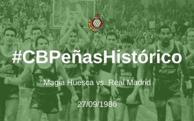 #CBPeñasHistórico   Magia Huesca – Real Madrid 1986