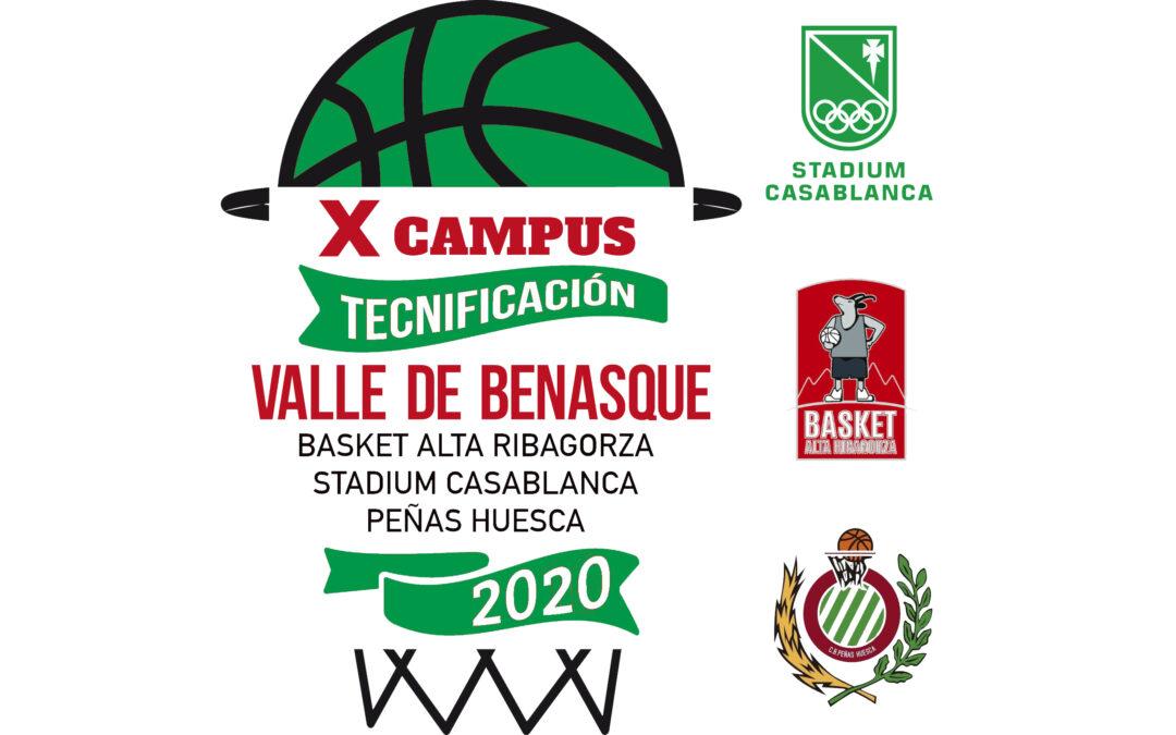 CB Peñas participa en la organización del X campus de tecnificación Valle de Benasque