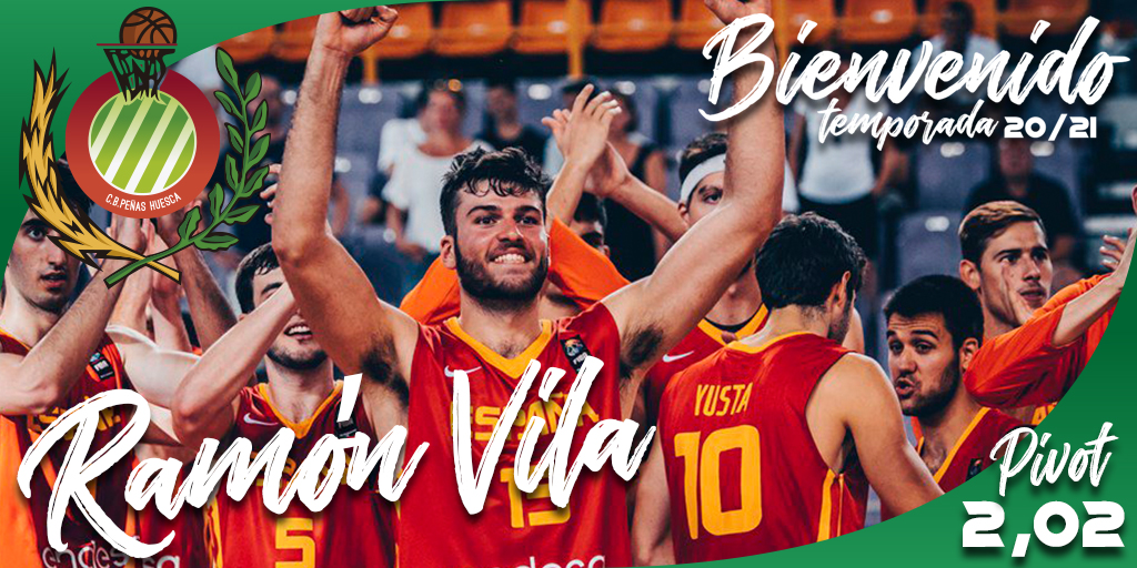 FICHAJE | Ramón Vilà, nueva incorporación para el primer equipo de CB Peñas