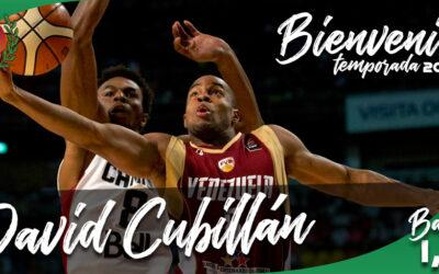 FICHAJE | David Cubillán, experiencia y capacidad de liderazgo para la plantilla de CB Peñas
