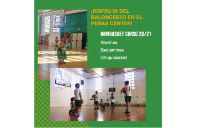 CANTERA   ¡Ven a disfrutar del Baloncesto en el Peñas Center!