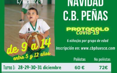 CANTERA   ¡Ven al campus de Navidad de CB Peñas!