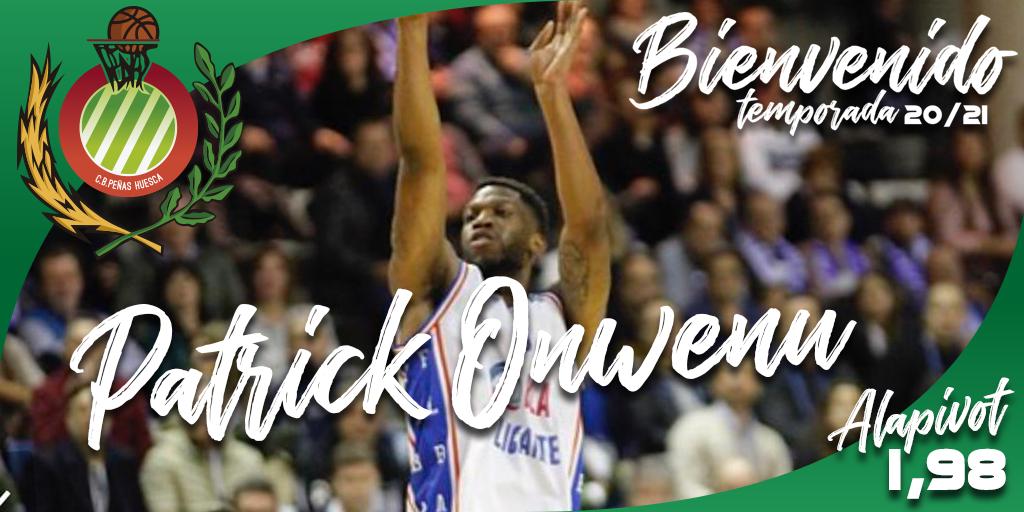 FICHAJE | Patrick Onwenu se incorpora a Levitec Huesca