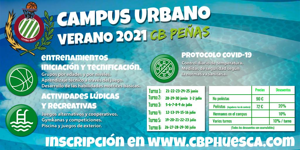 CANTERA | Comienza el campus de verano de CB Peñas