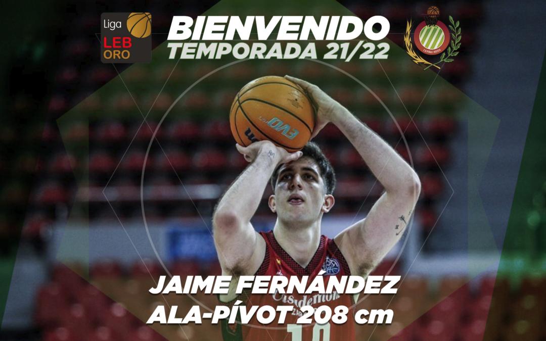 FICHAJE | Jaime Fernández, proyección y juventud para el juego interior de Levitec Huesca