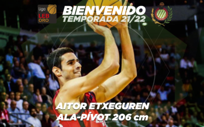 FICHAJE | Aitor Etxeguren, nueva pieza para el Levitec Huesca de la 21/22