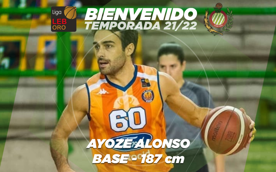 FICHAJE | Ayoze Alonso, primer fichaje de Levitec Huesca para la temporada 21/22