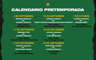 NOTICIA | La pretemporada de Levitec Huesca dará comienzo este lunes