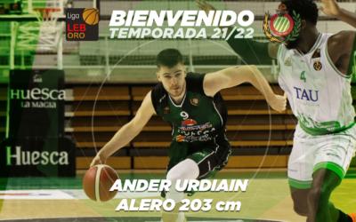 FICHAJE | Ander Urdiain seguirá una temporada más en Levitec Huesca